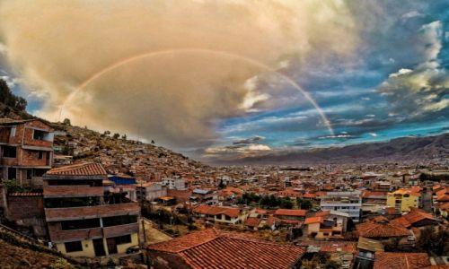 Zdjęcie PERU / Cusco  / cusco / Tęcza w Cusco