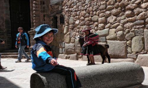 Zdjęcie PERU / Cusco / Cusco  / Peruwiańskie dzieci
