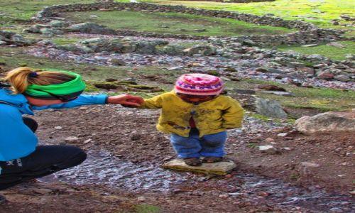 Zdjęcie PERU / Cusco / Ausangate / Peruwiańskie dzieci