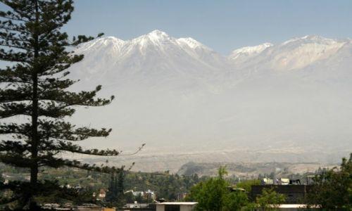 Zdjecie PERU / Arequipa / Arequipa / Święte szczyty Inków