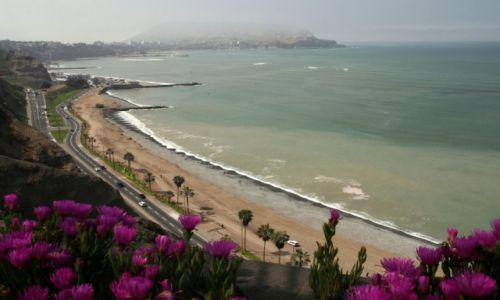 Zdjęcie PERU / Lima / Wybrzeże oceanu / Kiedy odejdzie garua