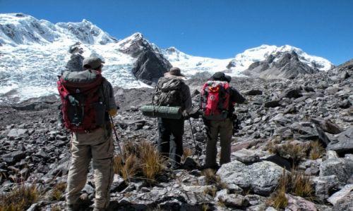 Zdjecie PERU / Cusco  /  Łańcuch górski Vilcanota  / Przed nami nasz cel ponad 6-tysięczny szczyt