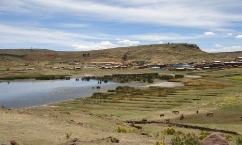 Zdjęcie PERU / Puno / Sillustani / Panorama miasteczka
