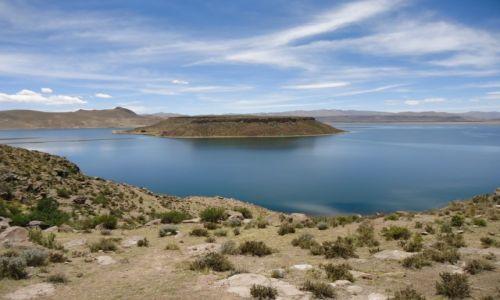 Zdjęcie PERU / Puno / Sillustani / Widok z półwyspu