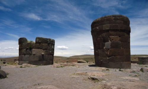 Zdjęcie PERU / Puno / Sillustani / Chullpa Hanunwasi