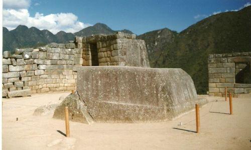 Zdjęcie PERU / Płd. Peru / Aguas Calientes / Gnomon pór roku