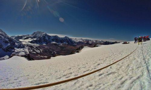 PERU / Cusco region / Cordillera Vilcanota / Szczyt Campa 5500 m n.p.m.