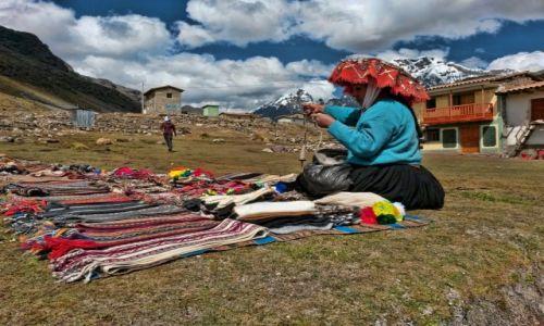PERU / Cusco / Pacchanta / Wioska Pacchanta i początek trekkingu w Cordillera Vilcanota