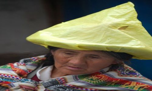 Zdjęcie PERU / Cordyliera Blanca / Huaraz / Kapelusze Ameryki Pd.