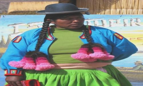 Zdjecie PERU / - / Jezioro Titicaca, wyspa Uros / Ciekawa fryzurka