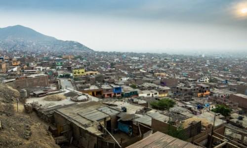 Zdjęcie PERU / Lima / Como / Slumsy