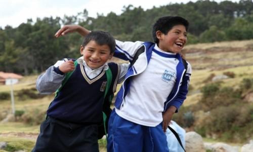 Zdjecie PERU / Cusco / Cusco / Los niños