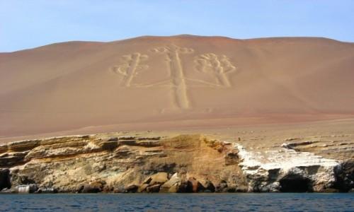 Zdjęcie PERU / Wybrzeże / Paracas / Kandelabr - dawno nie było