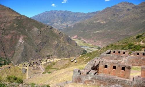 PERU / Andy / Dolina rzeki Urubamba / Urubamba - Święta Dolina Inków