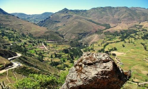 Zdjęcie PERU / Andy / Święta Dolina Inków / Droga do ruin Pisac - poczatek