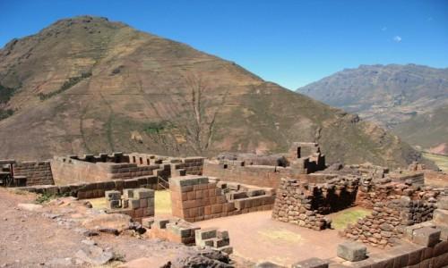 Zdjęcie PERU / Andy / Święta Dolina Inków / Ruiny Pisac