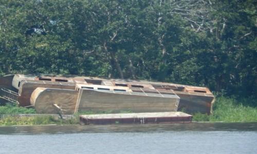 PERU / Iquitos / Amazonia / Statek