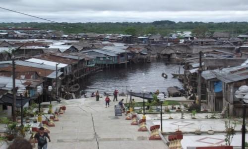 Zdjęcie PERU / Amazonia / Iquitos / Amazońska Wenecja