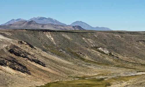 Zdjęcie PERU / Arequipa / w drodze / Krajobraz w drodze do Chvay
