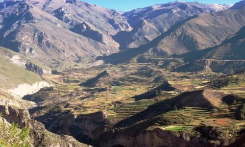 PERU / Andy /  Miejsce gniazdowania kondorów / Kanion Colca