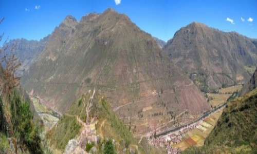 Zdjecie PERU / Andy / Panorama Doliny / Urubamba - Świę