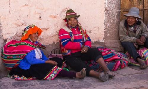 PERU / Święta Dolina Inków / Pisac / Szczęśliwi ludzie