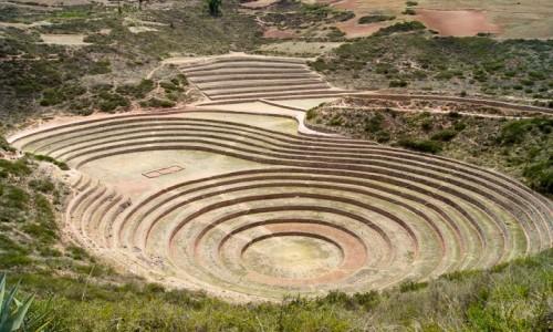 Zdjęcie PERU / Święta Dolina Inków / Moray / Tarasy w Moray