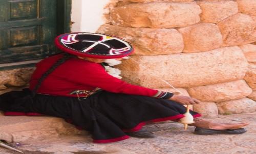 Zdjęcie PERU / Święta Dolina Inków / Chinchero / Pani z Cinchero