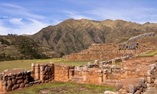 Zdjecie PERU / Święta Dolina Inków / Chinchero / Pozostałości po Inkach w Chinchero