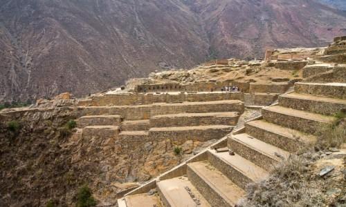 Zdjęcie PERU / Święta Dolina Inków / Ollantaytambo / Tarasy inkaskie w Ollanta