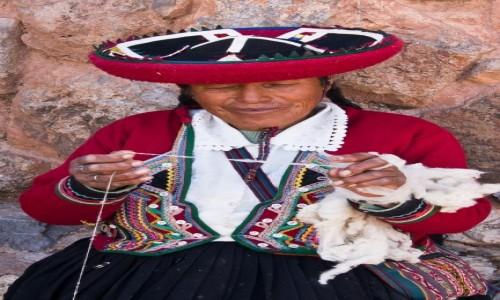 Zdjęcie PERU / Święta Dolina Inków / Chinchero / Tradycja