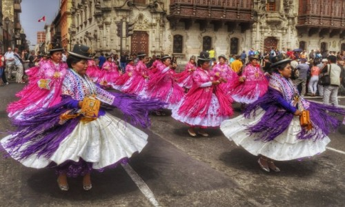 Zdjecie PERU / Lima / Lima / Koloryt Peru