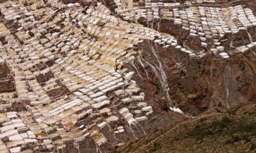 Zdjęcie PERU / Święta Dolina Inków / Salineras de Maras / Plaster miodu