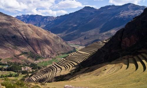 Zdjecie PERU / Święta Dolina Inków / Pisac / Tarasy Pisac