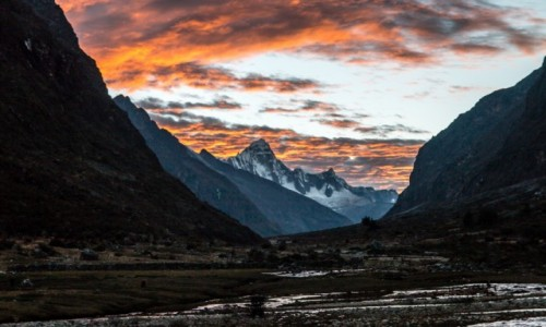 Zdjecie PERU / Cordillera Blanca / Cordillera Blanca / treking Santa Cruz