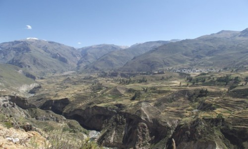 Zdjecie PERU / Arequipa / Kanion Colca / Najgłębszy kani