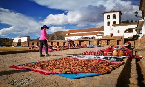 Zdjecie PERU / Cusco  / Chinchero  / Lokalny ryneczek