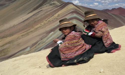 Zdjecie PERU / Ausangate / Rainbow Mountain / Siostry
