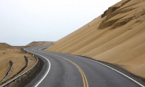 Zdjecie PERU / Wybrzeze Pacyfiku / Wybrzeze Pacyfiku / Panamericana - droga przez Ameryke Pld