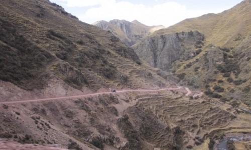 Zdjecie PERU / Ausangate / Ausangate / Droga w Andach