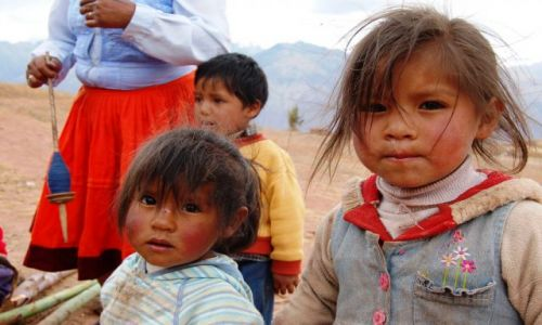Zdjecie PERU / brak / Morray / Dzieci Peru