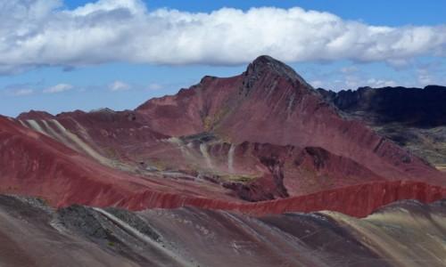 Zdjecie PERU / Winicunca / Rainbow Mountain / Gdzieś w Andach