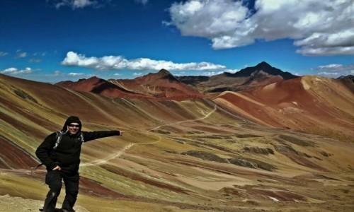 Zdjecie PERU / Andy / Rainbow Mountain / Persona non grata 😅