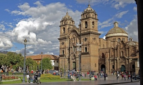 Zdjecie PERU / Cusco / Cusco / Kościół Jezuitów w Cusco