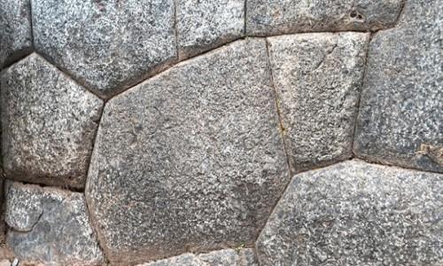 PERU / Cusco / Cusco / Kamienne bloki