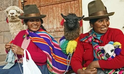 PERU / Cusco / Cusco / Współcześni potomkowie inków