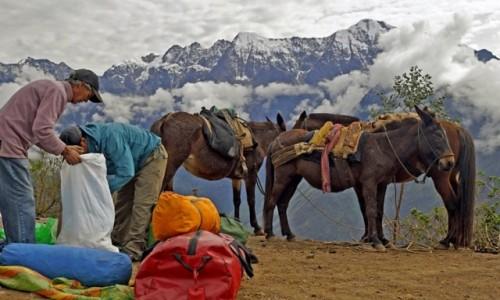 Zdjecie PERU / Cusco / Cusco / Przygotowania do treku