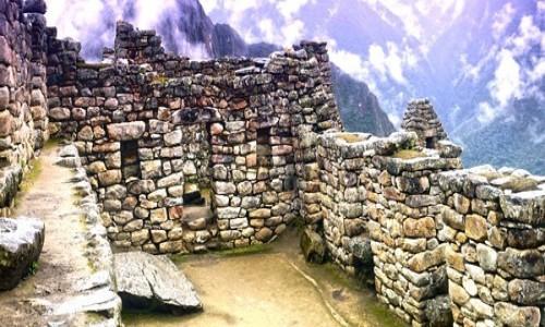 Zdjecie PERU / Cusco / Machu Picchu / Ruiny Pałacu