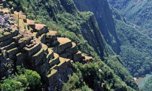 PERU / Cusco / Machu Picchu / Tarasy agralne