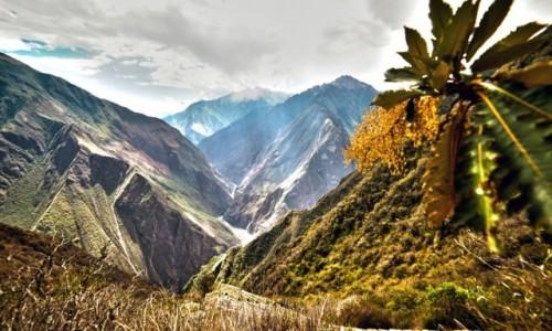 Zdjęcie PERU / Cusco / Choquequirao / Kanion  rzeki Apurimac.